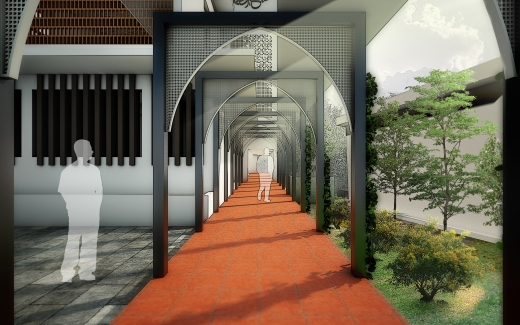 Designer shabeeb mohammed for Religious buildings in india